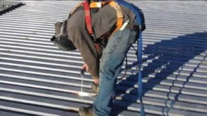 Roof Deck Welding