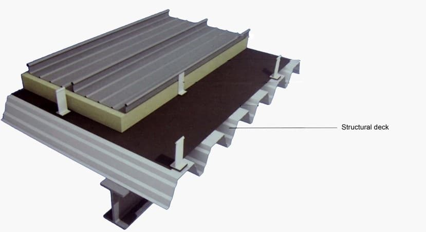 Metal Roof Deck Products Steel Roof Decking Supplier