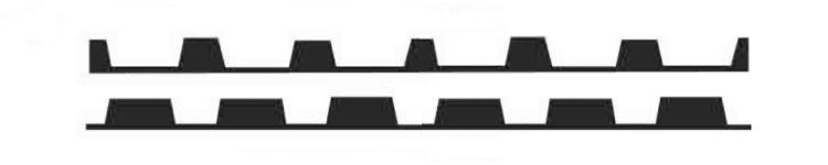 """1.5"""" B Deck Foam Strips"""