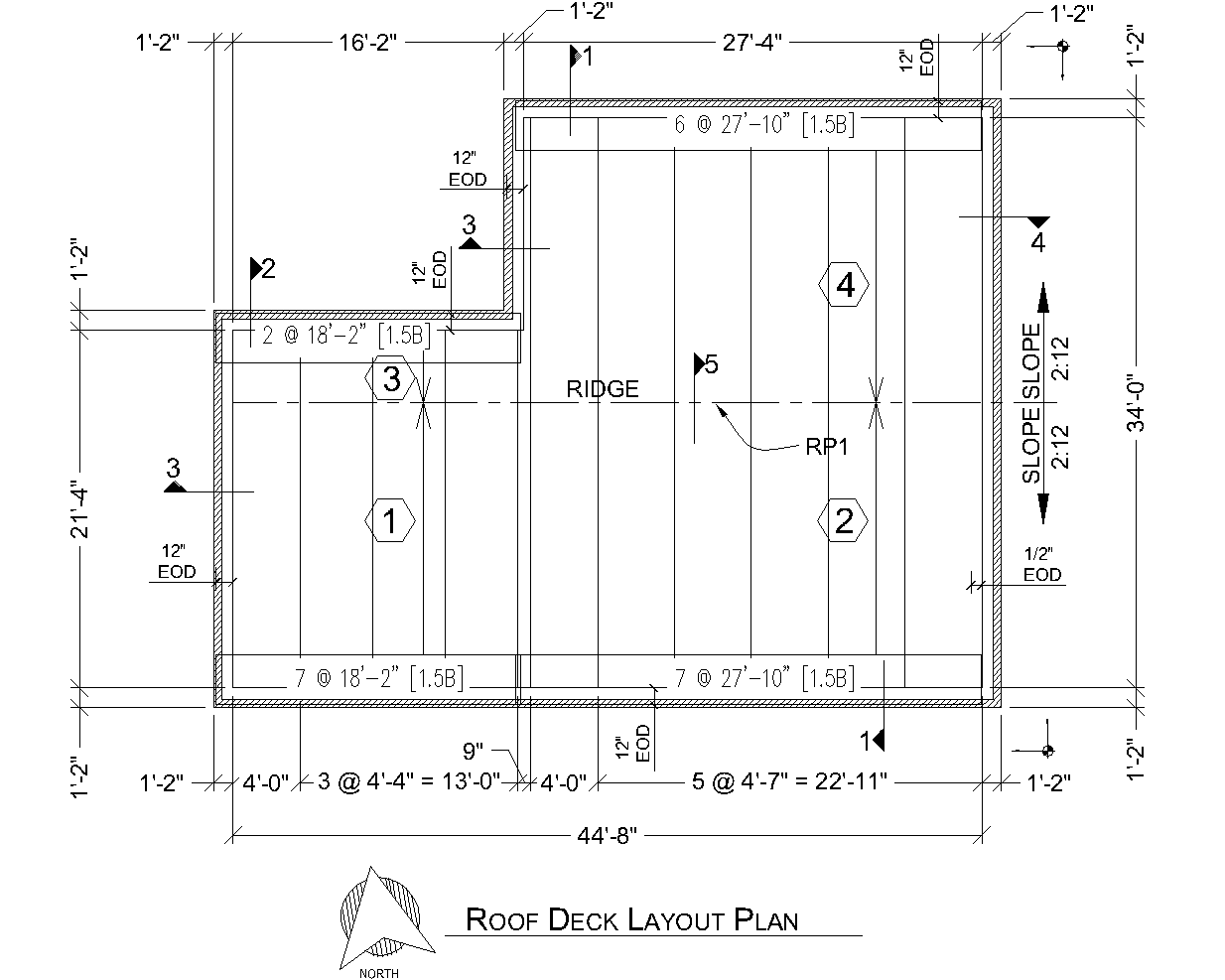 1 5 A Deck Type A Roof Deck Supplier